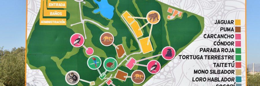 26 hectáreas de parque, pero sin predio de estacionamiento