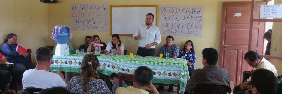 El sueño de la planta de tratamiento en San Blas y un alto riesgo