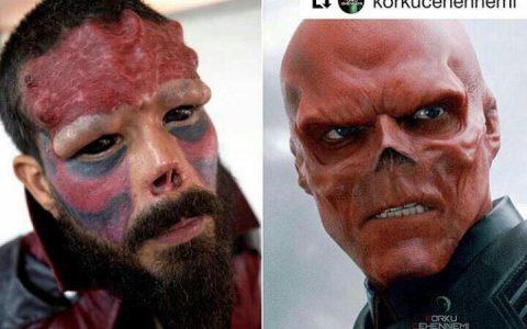 Red Skull, de la historieta a la vida real