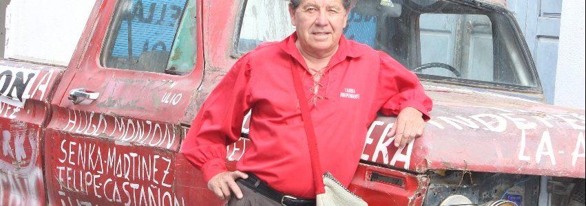 """""""La Arrrdiente"""", la camioneta rebelde del Cumpa Mico"""