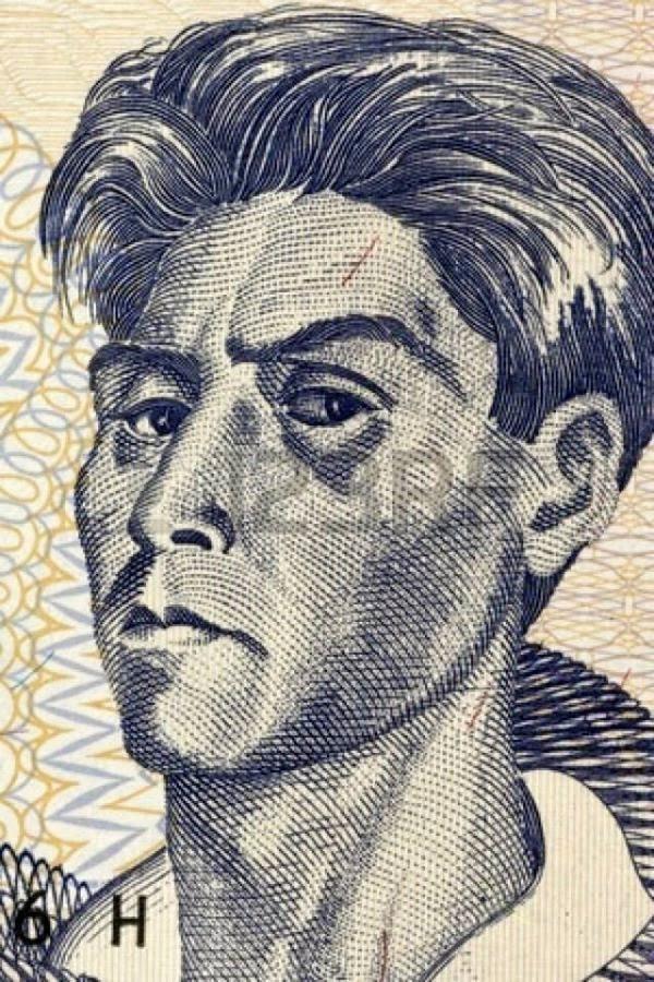 La imagen de Cecilio Guzmán en los billetes de Bs 10.
