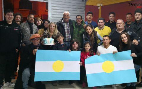 Ensalada rusa y locura albiceleste en Tarija