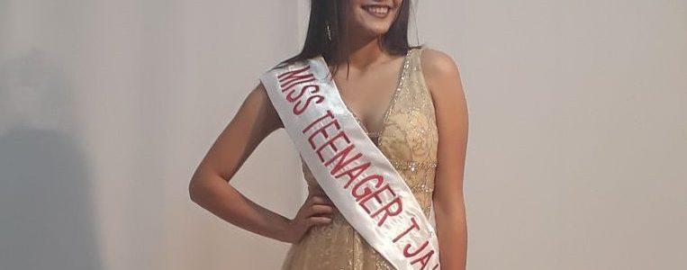 La joven reina de belleza y un proyecto a favor de Sama