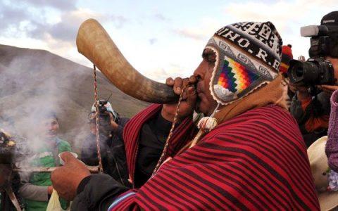 Bolivia recibe el año 5526 del calendario aymara