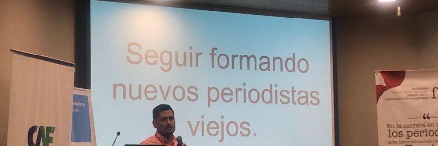 VCT en el Encuentro de Periodismo Emprendedor