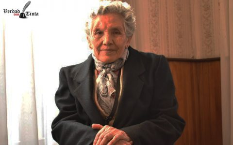 María Calderón y una incansable lucha por los derechos humanos