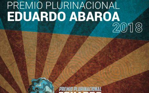 Lanzan convocatoria al Premio Eduardo Abaroa 2018