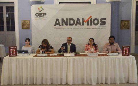 TSE presenta una renovada revista Andamios