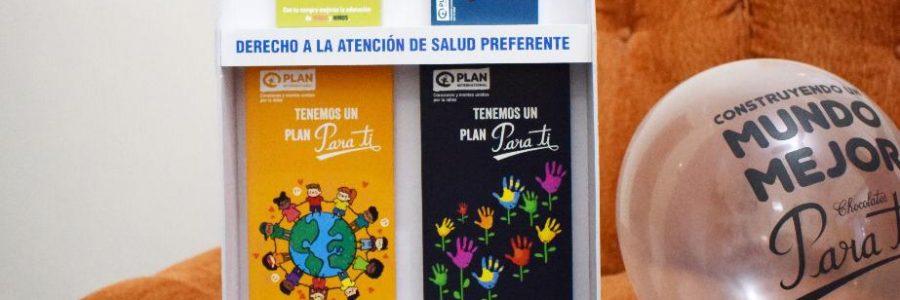 Plan Internacional y Chocolates Para Ti se unen a favor de los niños